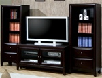 Cappuccino Finish 3 Piece Entertainment Unit by Coaster - 700291