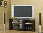 Cappuccino Finish CD Rack TV Stand by Coaster - 700601