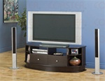 Cappuccino Finish TV Stand by Coaster - 700604
