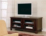 Cappuccino Finish TV Stand by Coaster - 700610