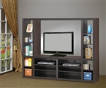 46 Inch TV Entertainment in Cappuccino Finish by Coaster - 700620