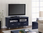 47-Inch TV Stand in Black Finish by Coaster - 700644