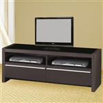48 Inch TV Stand in Cappuccino Finish by Coaster - 700649