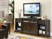 42 Inch Slide Out TV Console in Rich Brown Finish by Coaster - 700711