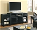 Extendable 42-76-Inch Black TV Console by Coaster - 700714