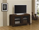 47 Inch TV Console in Dark Oak Finish by Coaster - 703176