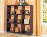 Cappuccino Finish Bookcase by Coaster - 800083