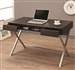 Connect It Computer Desk in Cappuccino Finish by Coaster - 800117