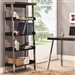 Clayton Bookcase in Black and Nickel Finish by Coaster - 800155