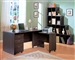 Decarie 4 Piece Home Office Set in Rich Dark Finish by Coaster - 800255S