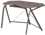 Harsen Computer Desk in Weathered Grey Finish by Coaster - 800428