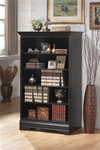 Black Finish Bookcase by Coaster - 800433