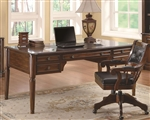 Paterson Desk in Walnut Finish by Coaster - 800466