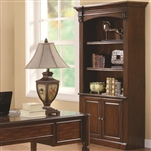 Paterson Bookcase in Walnut Finish by Coaster - 800469