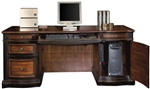 Two-Toned Warm Brown Finish Credenza by Coaster - 800500
