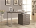 Reversible Writing Desk with File Drawer in Weathered Grey Finish by Coaster - 800520