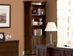Home Office Bookcase in Rich Dark Finish by Coaster - 800567