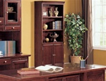Home Office Bookcase in Rich Cherry Finish by Coaster - 800575