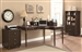 Jacqueline 3 Piece Home Office Set in Cappuccino Finish by Coaster - 800593-S