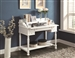 Lift-Top Writing Desk in White Finish by Coaster - 800995