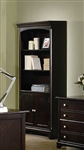 Garson Home Office Executive Bookcase in Rich Cappuccino Finish by Coaster - 801015