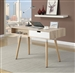 Modern Desk in Two Tone Finish by Coaster - 801158