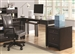Maclay Computer Desk in Dark Brown Finish by Coaster - 801191