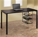 Contemporary Desk in Black Finish by Coaster - 801502