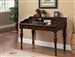 Traditional Desk in Rub-Through Brown Finish by Coaster - 801511