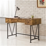 Barritt Desk in Antique Nutmeg Finish by Coaster - 801541