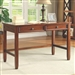Talitha Writing Desk in Rich Bourbon Finish by Coaster - 801711