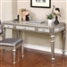 Metallic Platinum Finish Desk by Coaster - 804187