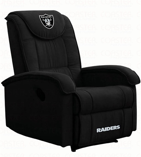 sc 1 st  Home Cinema Center & NFL Teams RAIDERS Recliner by Coaster - 891RDRS islam-shia.org