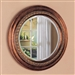 Bronze Finished Frame Round Accent Mirror by Coaster - 900198