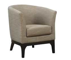 Accent Chair in Beige Fabric by Coaster - 900333