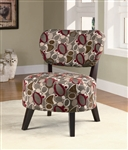 Oblong Pattern Fabric Accent Chair by Coaster - 900425