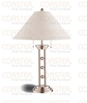 Set of Two Nickel Table Lamps by Coaster - 900734