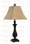 Set of Two Coffee Finish Table Lamps by Coaster - 901117