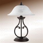 Dark Bronze Table Lamp by Coaster - 901207