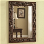 Traditional Accent Mirror in Rich Dark Finish by Coaster - 901739