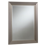 Silver Frame Accent Mirror by Coaster - 901748