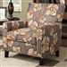 Floral Fabric Accent Chair by Coaster - 902031