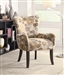 Retro Fabric Accent Chair by Coaster - 902052