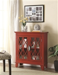 Accent Cabinet in Red Finish by Coaster - 950312