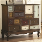 Accent Cabinet in Brown Finish by Coaster - 950327