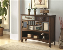 Accent Cabinet in Brown Finish by Coaster - 950329