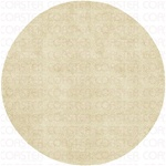 100% NEW ZEALAND WOOL 8' ROUND IVORY CASUAL SHAG RUG by Coaster - PR1001R