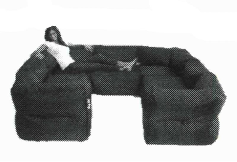 Big Joe 7 Piece Zip Modular Sectional By Comfort Research