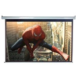 "Electric Projection Screen 72"" x 96"" - Matte White-White Casing - (120"" Diagonal)"