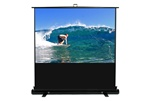 "ezCinema Plus Portable Projection Screen 36"" x 48"" - Matte White - 60"" Diagonal"